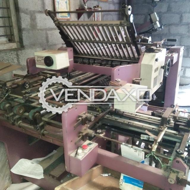 Shoei Folding Machine - Size - 30 x 40 Inch