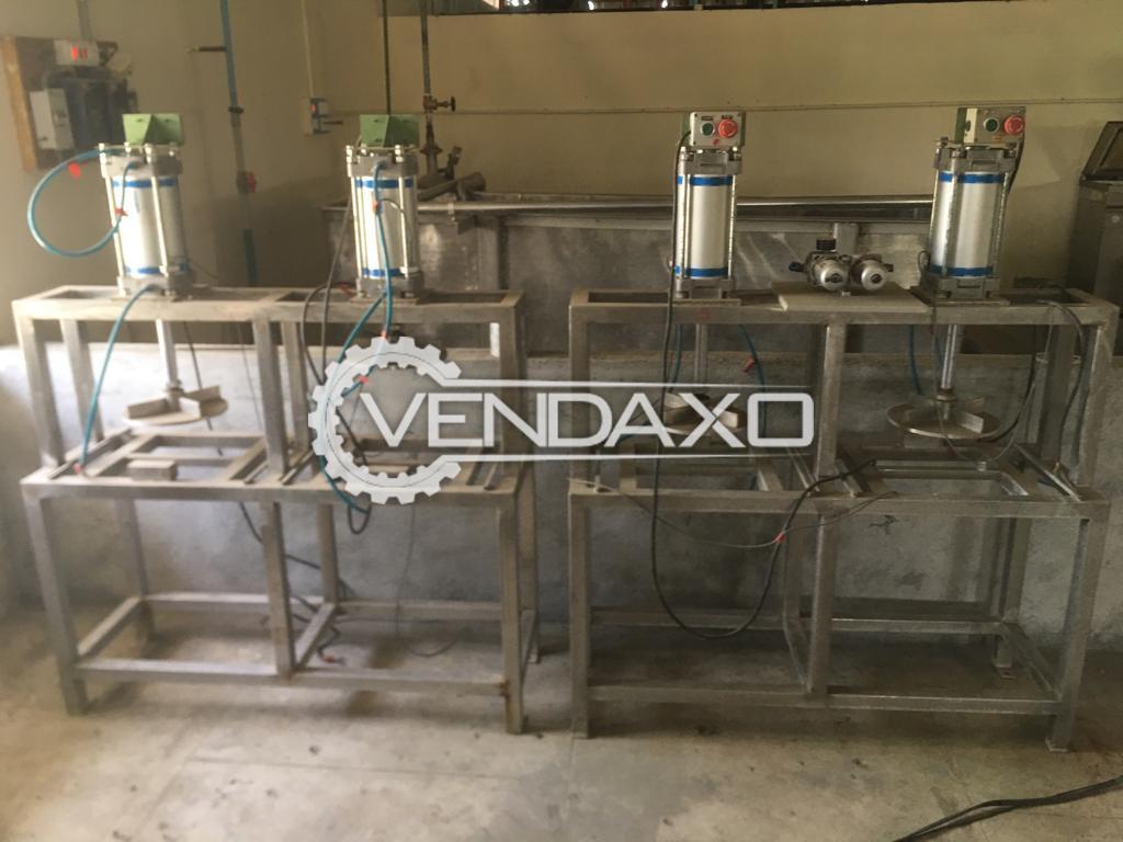 SS 304 Pneumatic Pander Press Machine - 80 KG