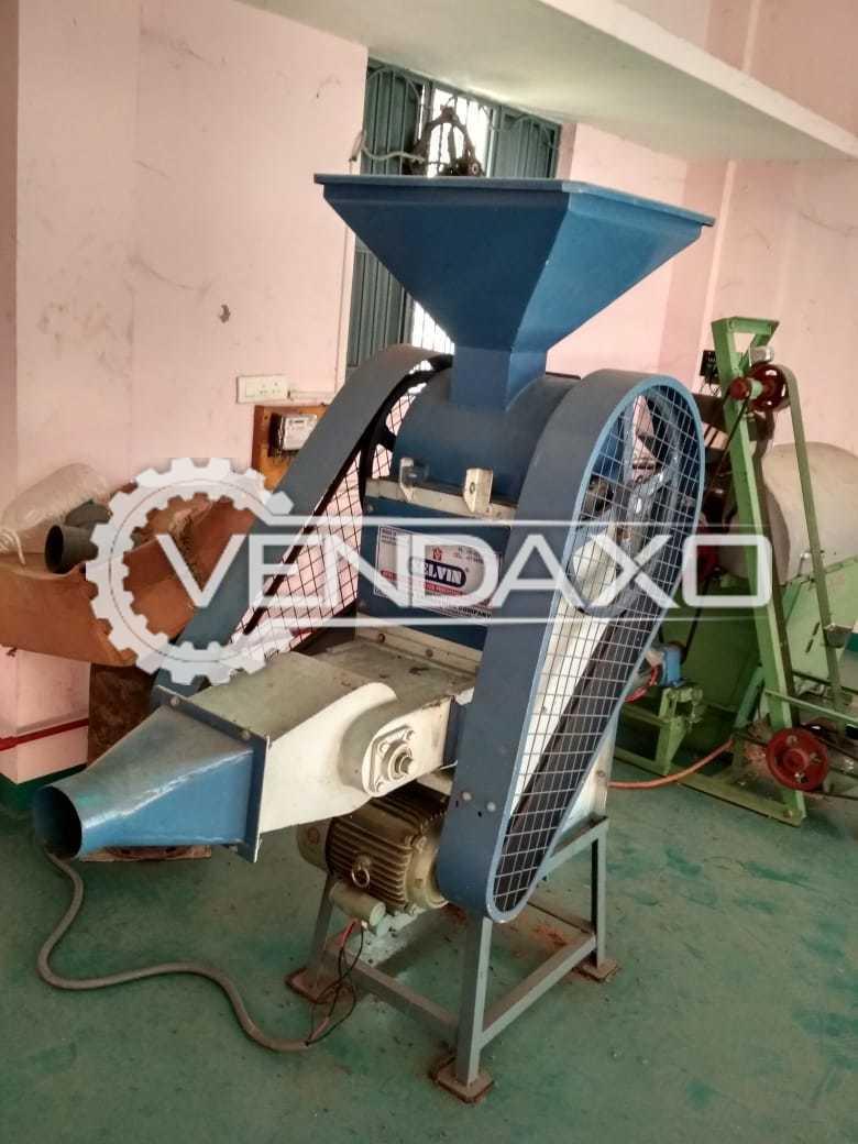 Sree Valsa Engineering Make Nuts Peeling Machine - 150 Kg Per Hour