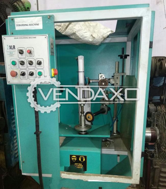 XLR Make Gear Deburring Machine - Size : 150-200 mm