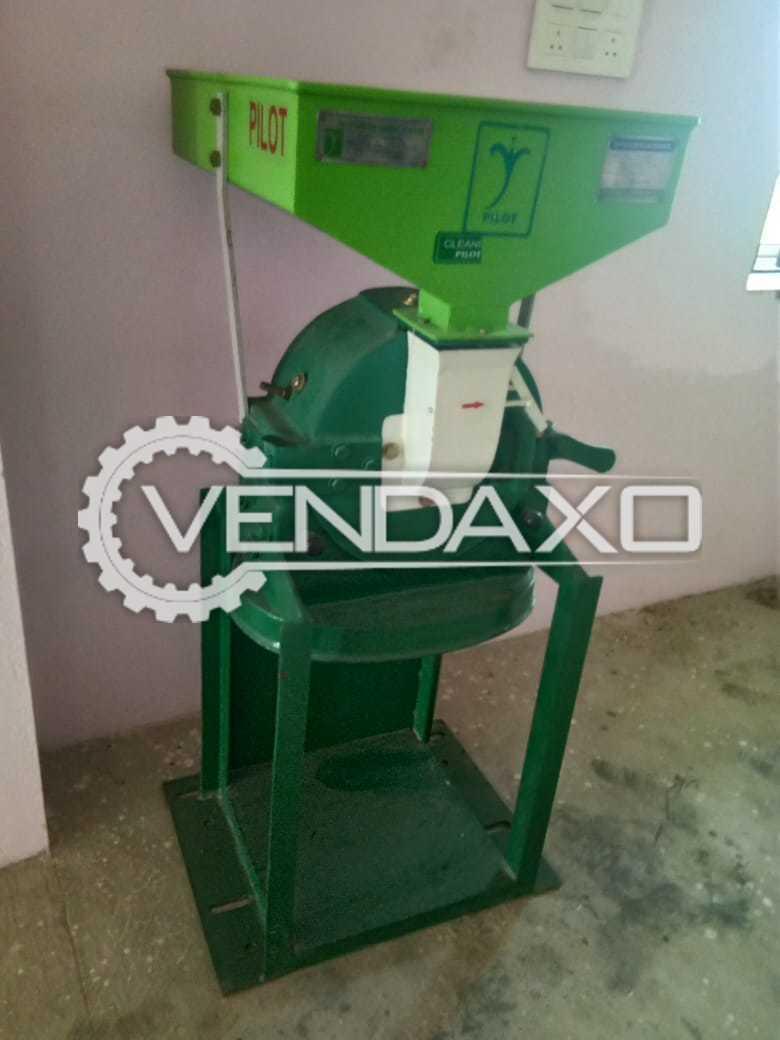 PilotSmith India Make Masala Grinding Machine - 15 Kg / 30 min