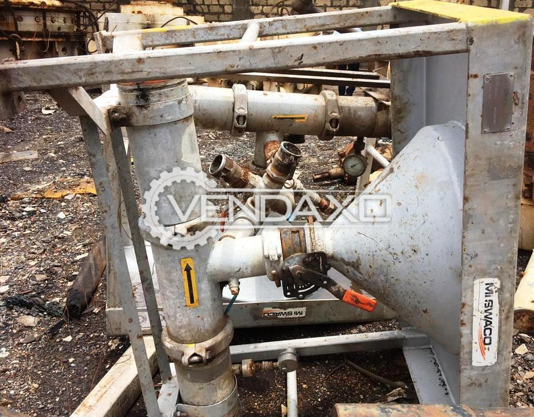 Available For Sale Mi Swaco P/N 9658120-001 Hiride Mixing Table - 2010 Model