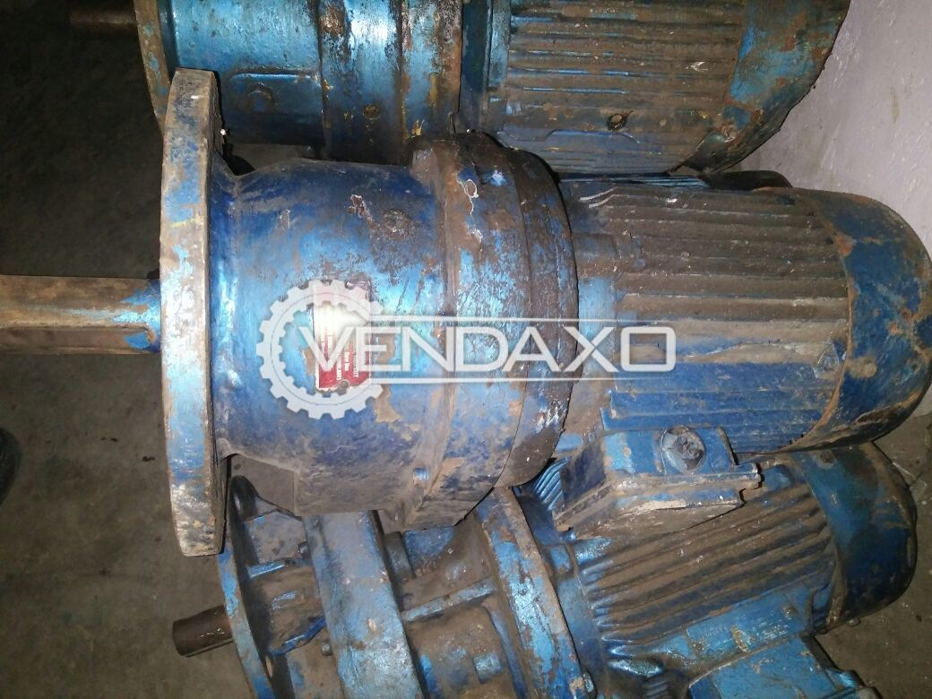 Gear Motor - Pre-Owned - 5 HP, 3 HP, 2HP