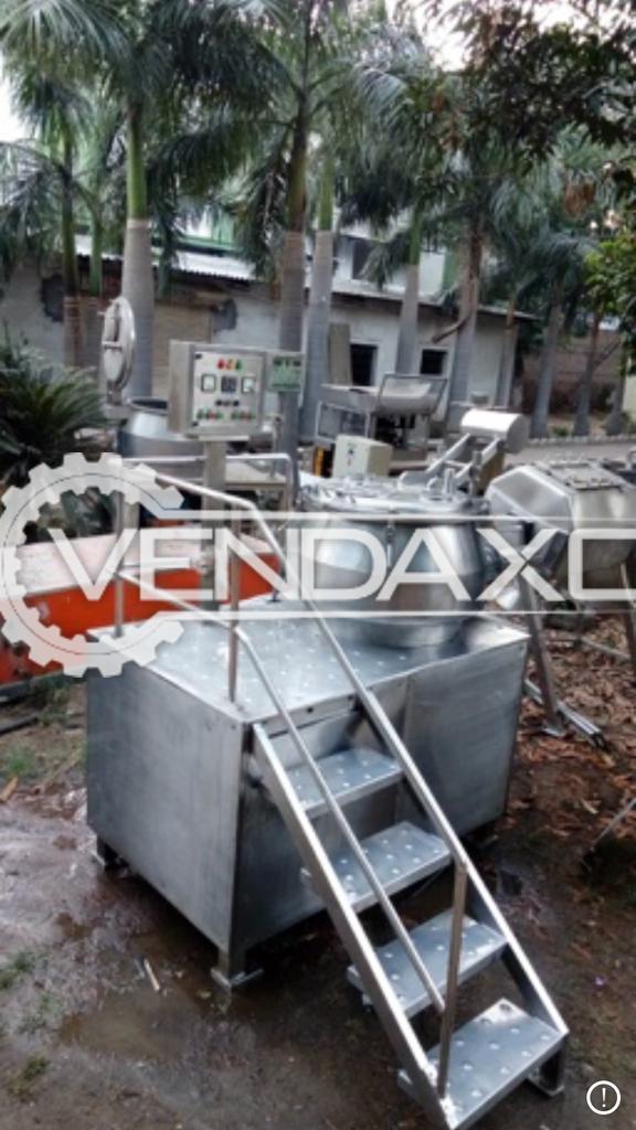 Chamunda Make Granulator Rapid Mixture  - 300 Liters
