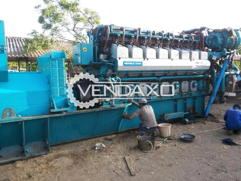 Gas Wartsila 16V25SG Generator for sale - 3175 KvA