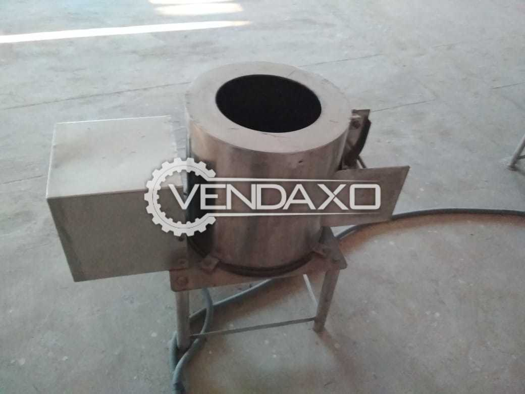 Dynamech Engineers Make Potato Peeler Machine - 140 Kg / hr