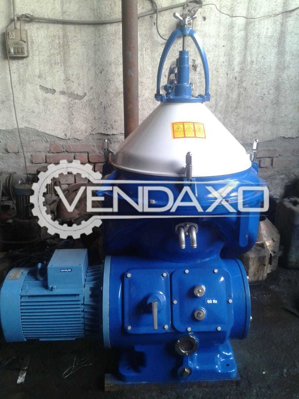 Available Reconditioned Alfa Laval oil Separator - Type : FOPX-610-TFD-24/60