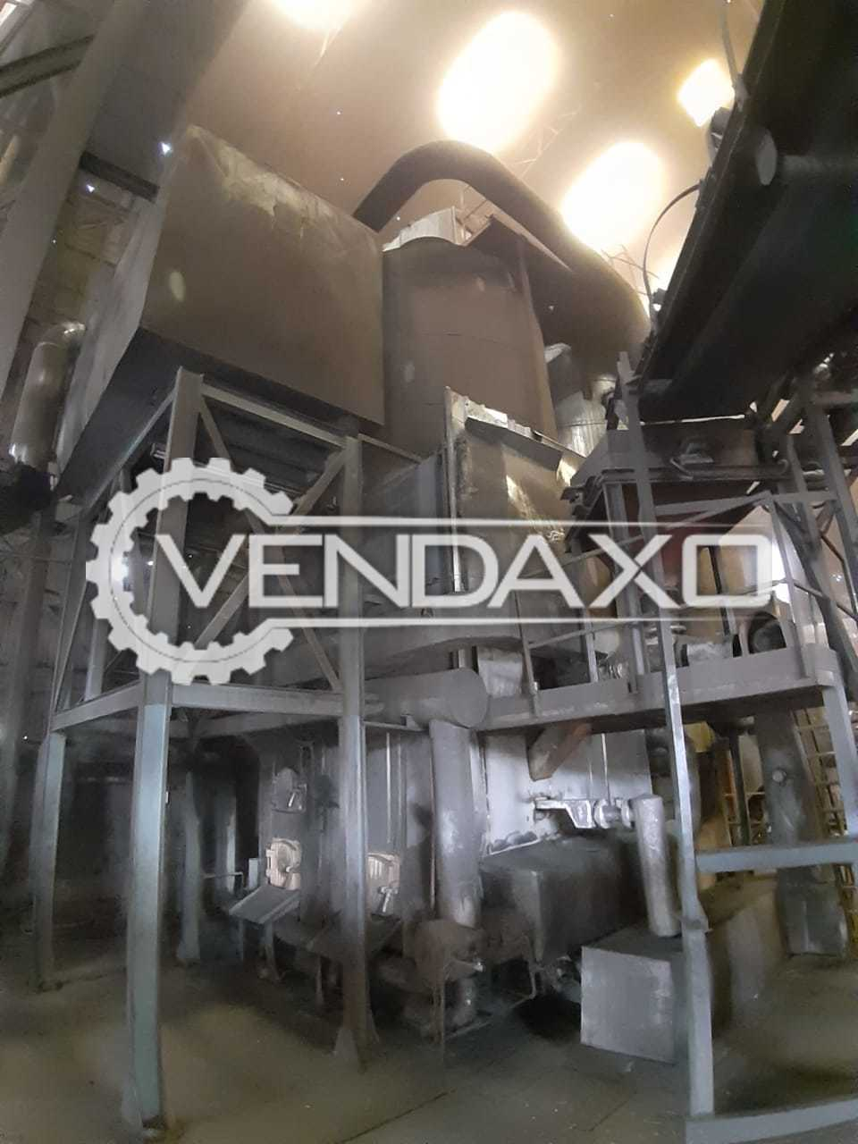 Available For Sale Stream Boiler, Wood Machine, Single Sided Edgebander Machine