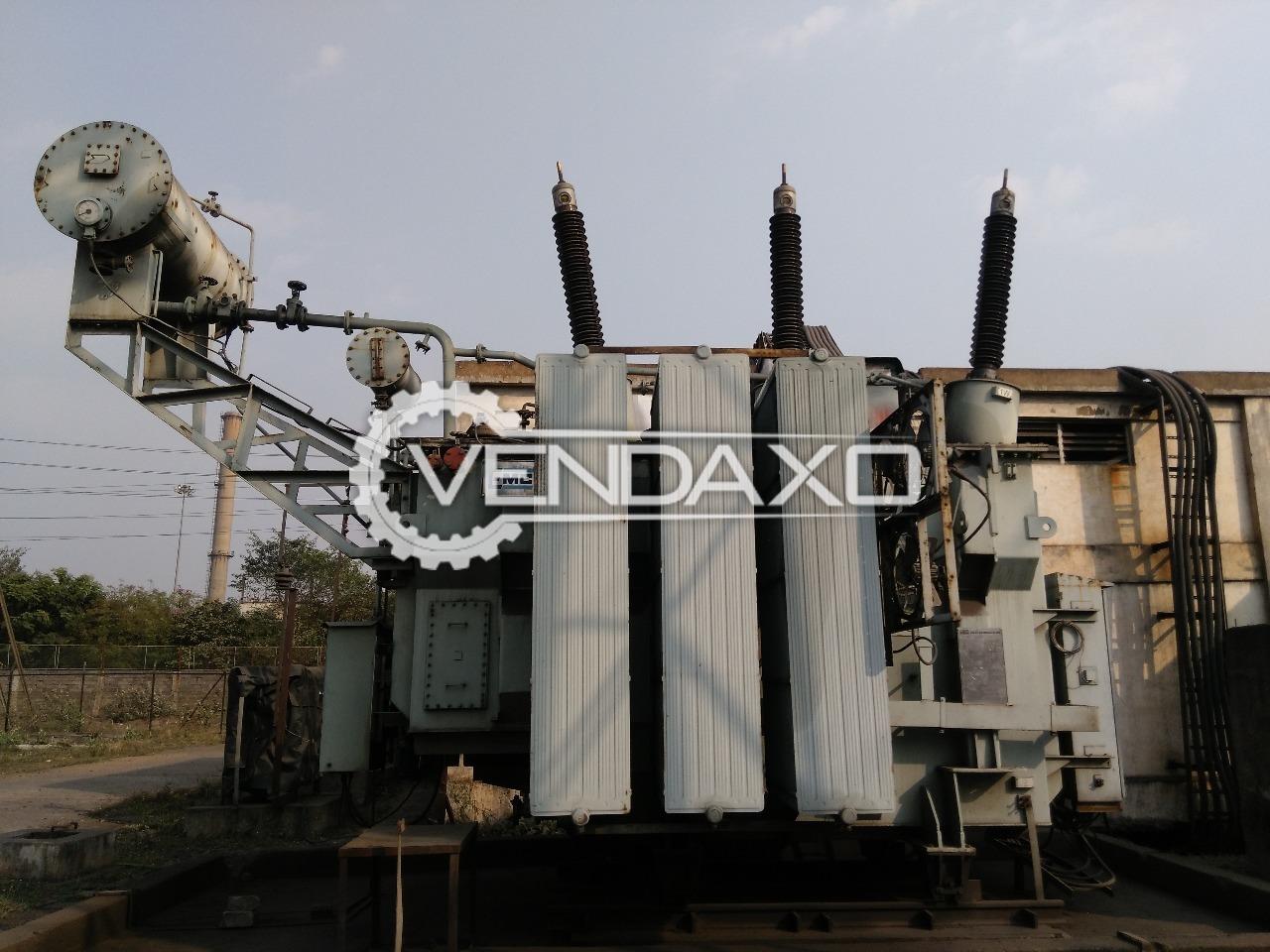 EMCO Transformer - 10,000 KVA