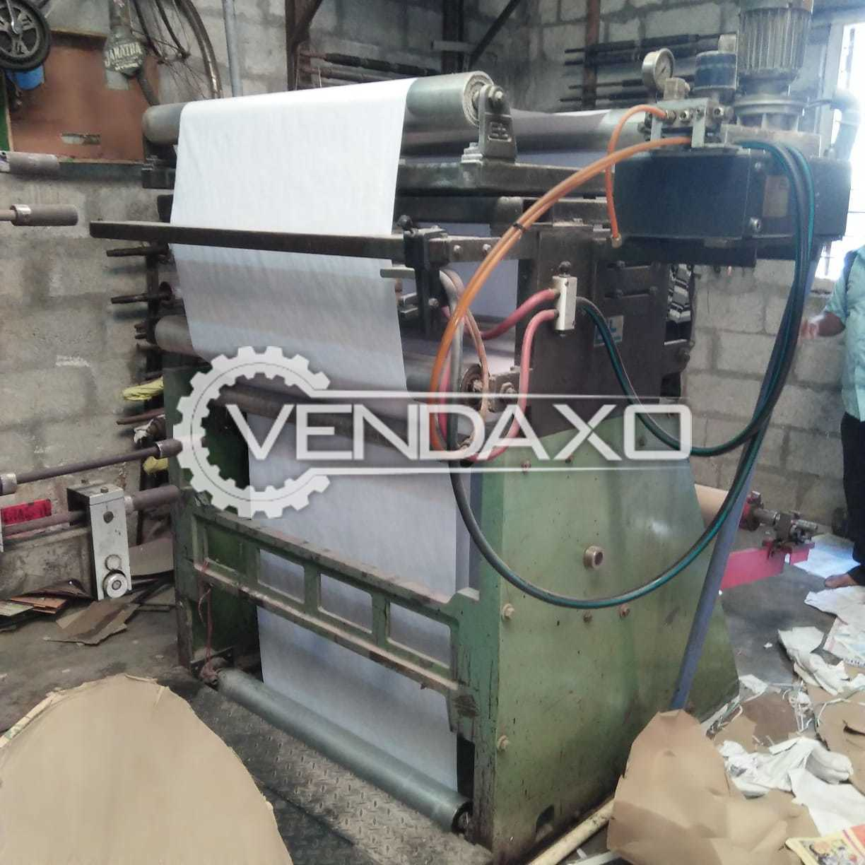 Line O Matic Flexo Printing Machine - 4 Color