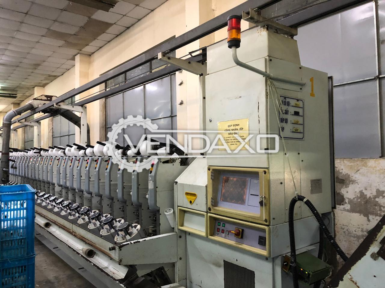 Schlafhorst 338 Autoconer Winding Machine - 60 Spindle, 2004 Model