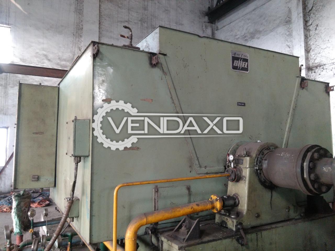 Bhel Syncronous Generator - 10,000 KVA