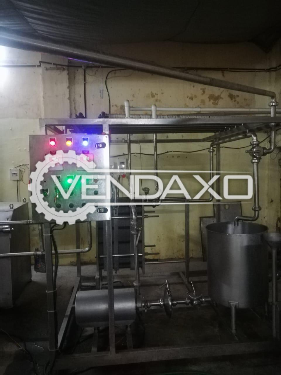 Available For Sale Milk Processing Unit - 2019 Model