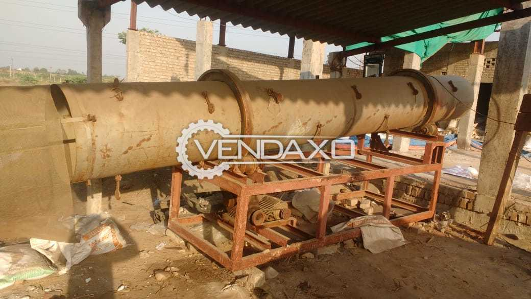 Hot Air Rotary Drum Dryer - 2 Ton