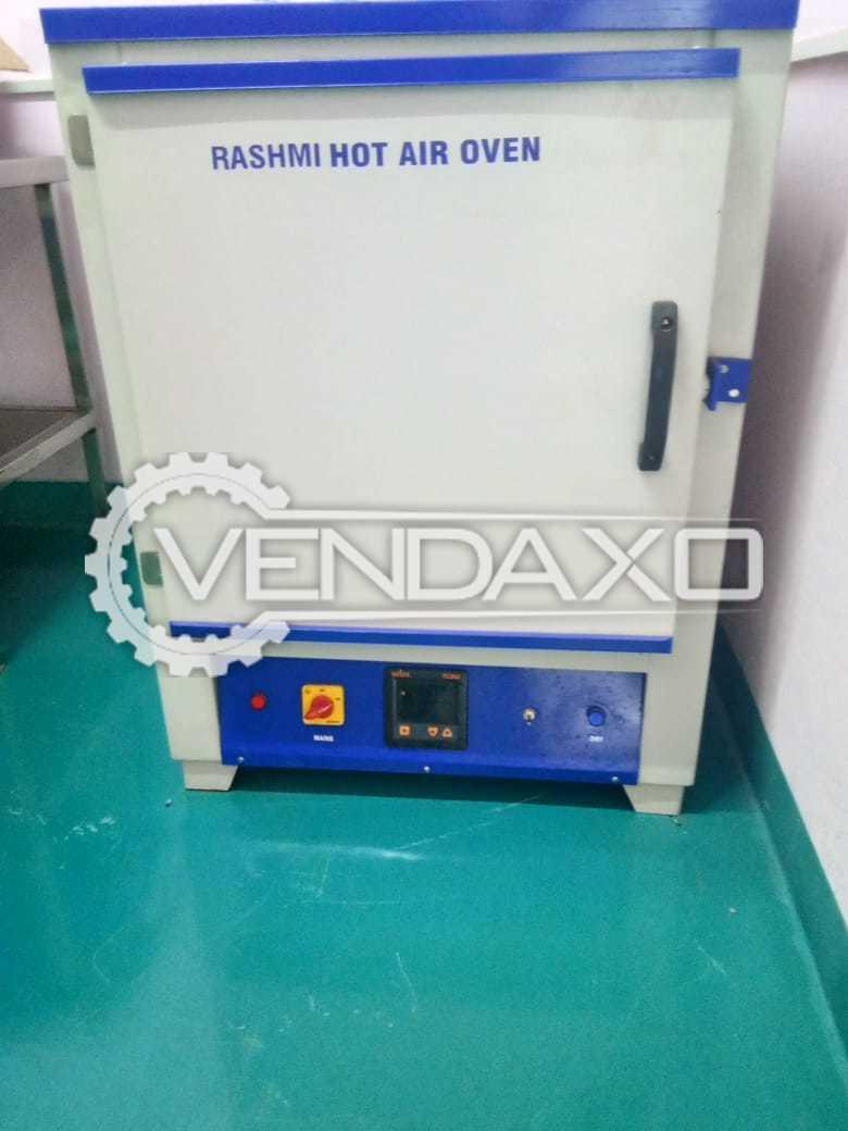 Available For Sale Rashmi Scientific Make Hot Air Oven - 2017 Model