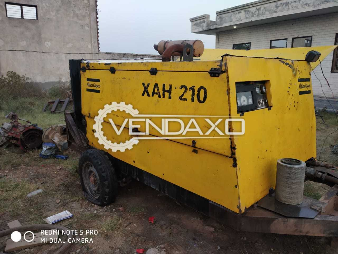 Atlas Copco XAH 210 Air Compressor - 210 kW