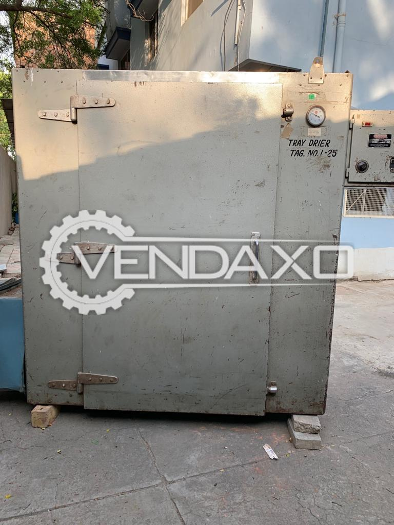 Tray Dryer - 24 Tray