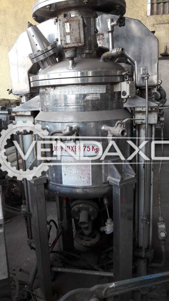 Available For Sale Dopp Mixer - 75 KG