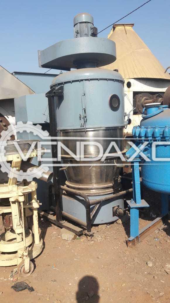 Fluid Bed Dryer (FBD) - 60 Kg And 100 Kg