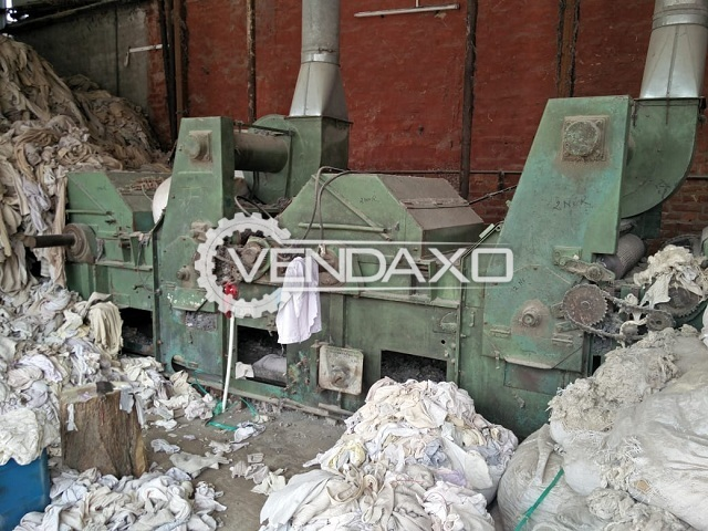 Laroche Rag Tearing Machine - 1 Meter