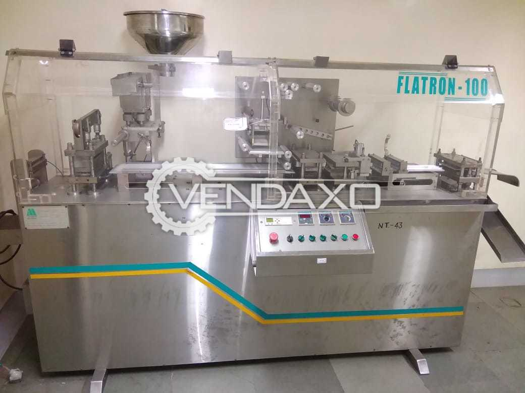 Alu Alu Flatron-100 Blister Packaging Machine