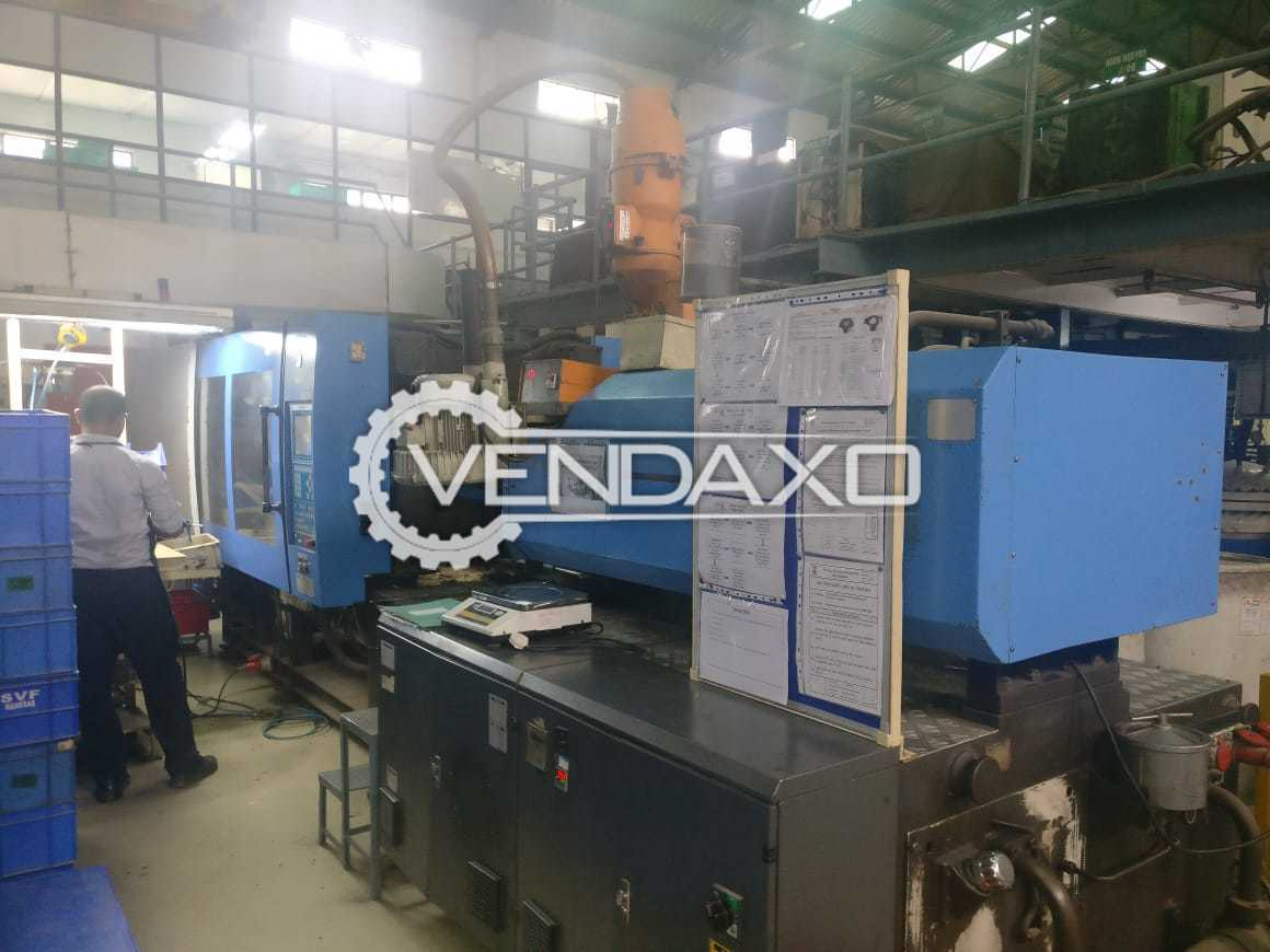 4 Set OF Haitian Make Injection Moulding Machinery - 90 to 160 Ton