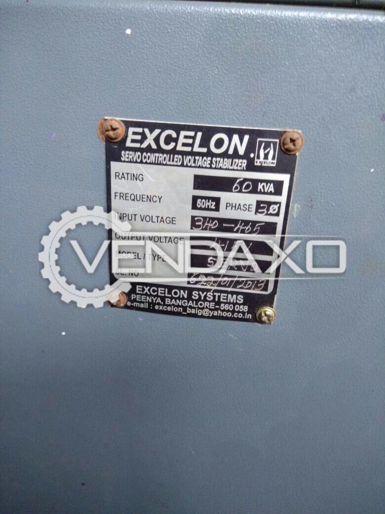 Excelon stabilizer   60 kva 2