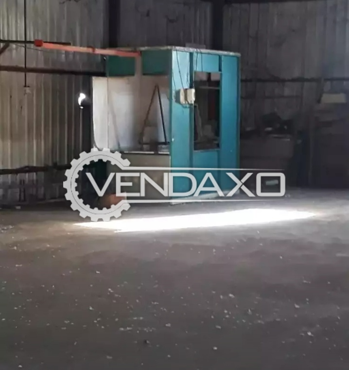 Available For Sale Powder Coating Plant - Oven Size - 16.5 X 6 Feet