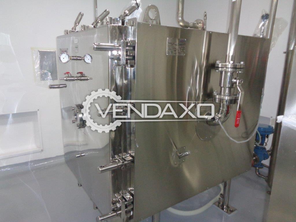 Cadmach -Kadam Make Vacuum Tray Dryer - 24 Tray
