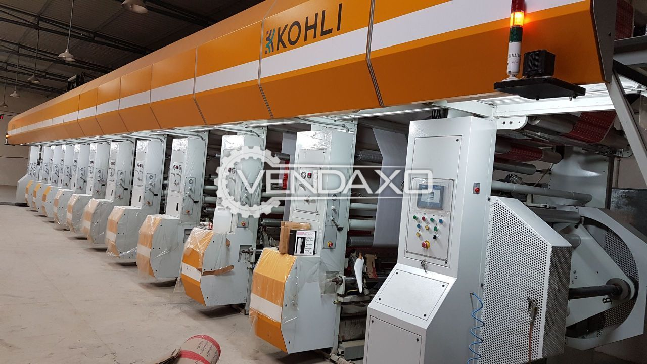 10 color Rotogravure Printing Machine - 225 meter/min