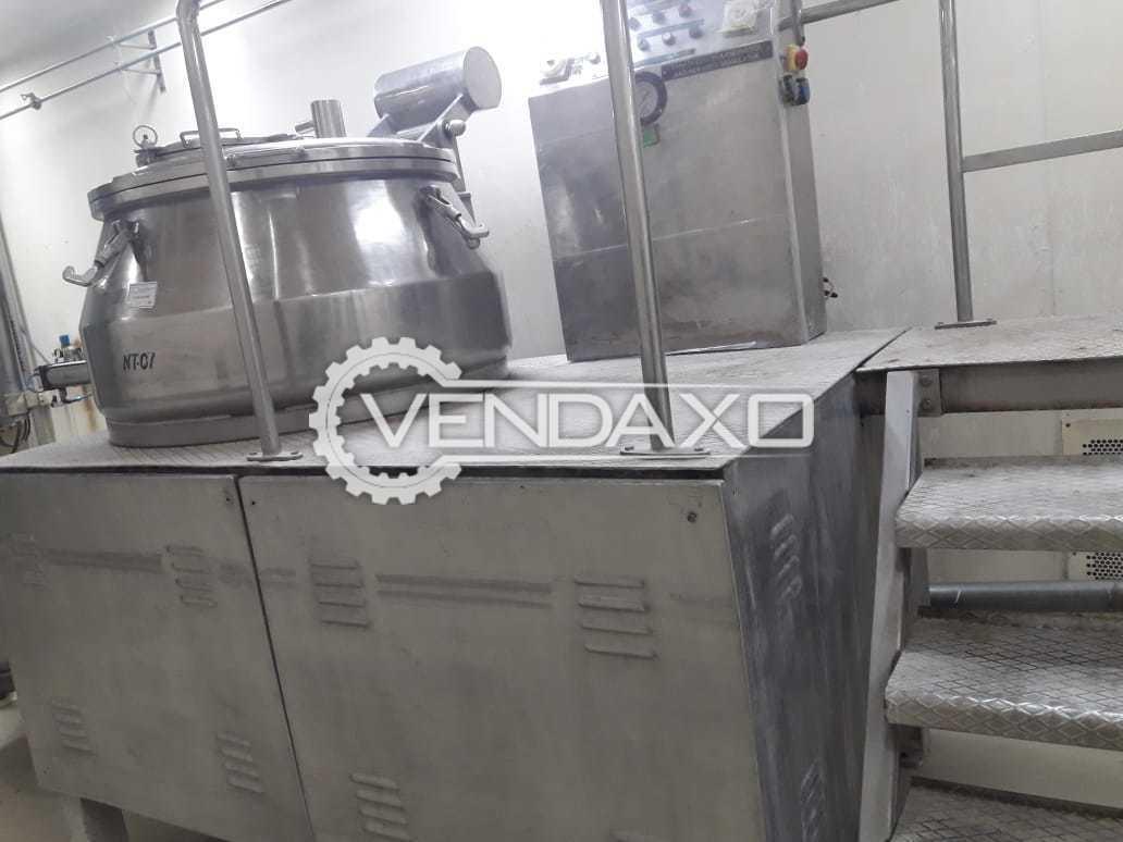 Rapid Mixing Granulation (RMG) - 450 Liter