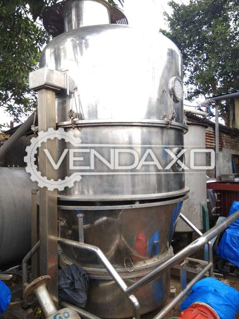 Fluid Bed Dryer (FBD) - 300 Kg