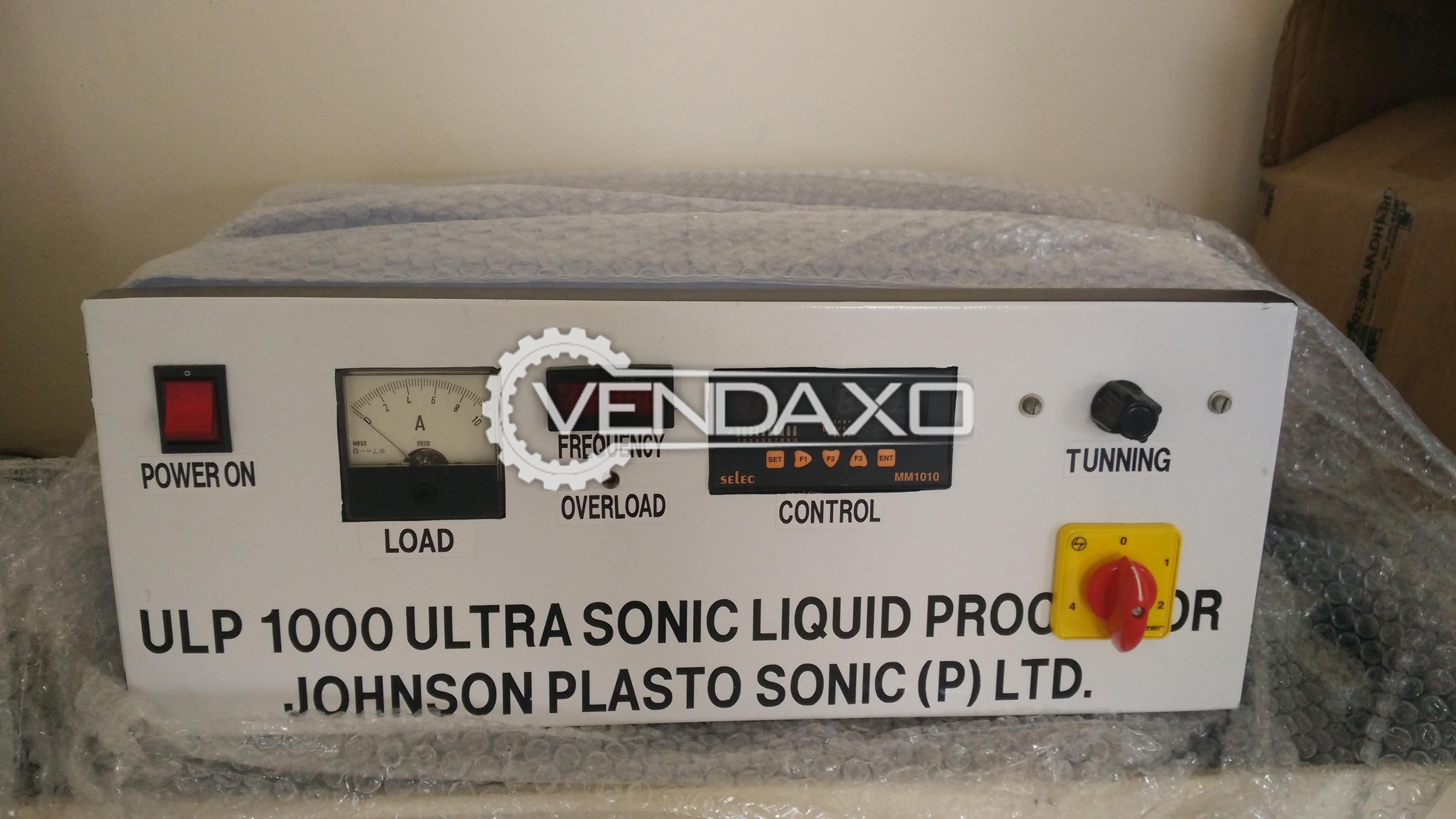 Ultra sonic liquid processor