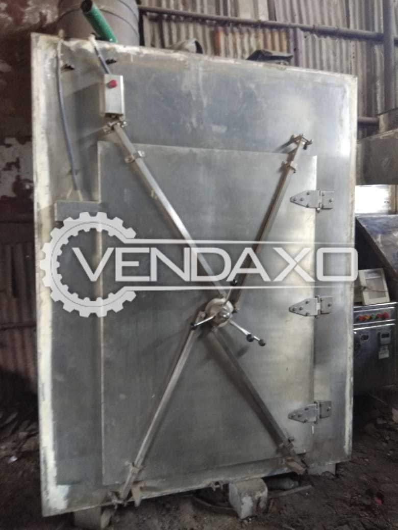 Vacuum Tray Dryer - 48 Tray