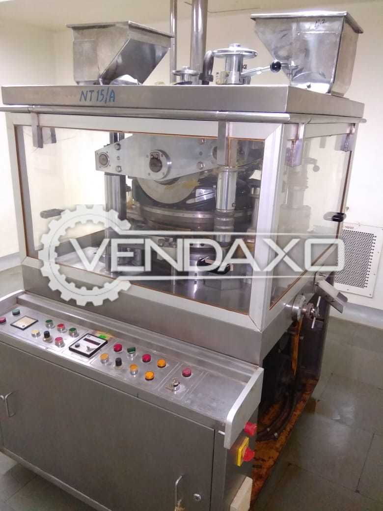 Fluid D Tooling Rotary Tablet Press Machine - 35 Station