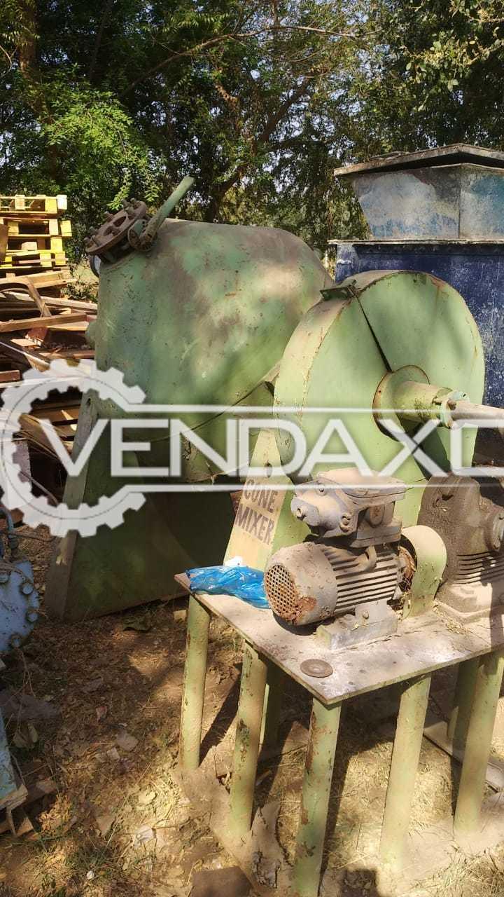 Roto Cone Vacuum Dryer (RCVD) - 300 Liter