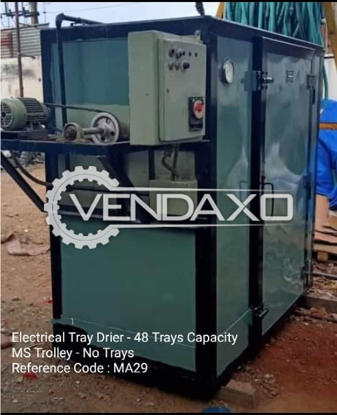 Electrical Try Dryer - 48 Tray