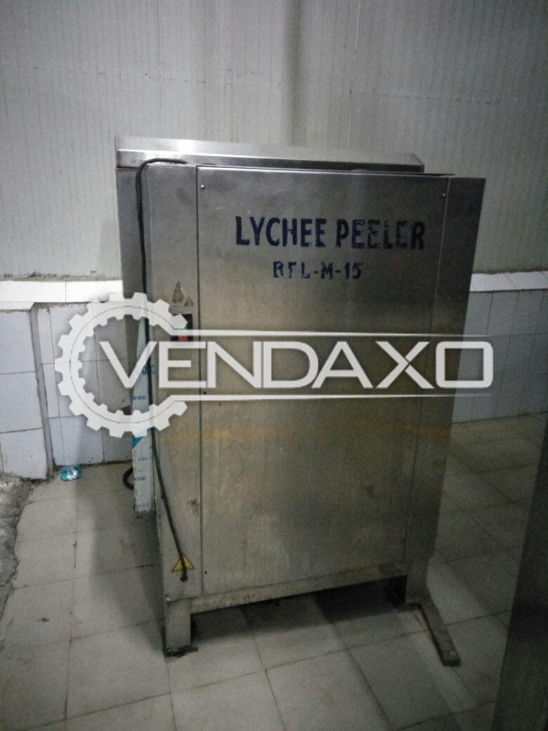 Lychee Peeler Machine - 2 MT/HR