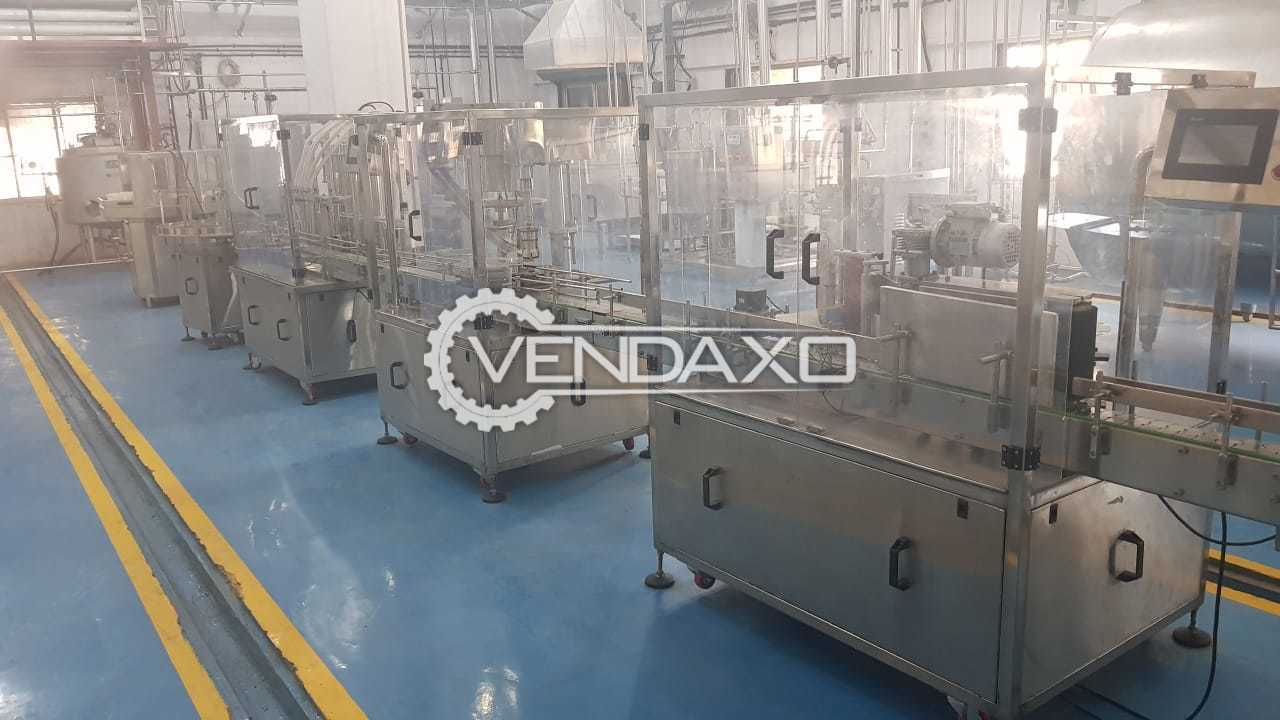 Available For Sale Cold Room, Bottle washing, Pneumatic Paneer, Bottle Filling, Bottle Capping, Bottle Labeling, Water Boiler