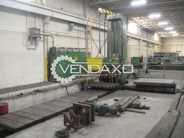 PAMA ACC-140-330 RAM Type Horizontal Floor Boring Mill Machine - Spindle Diameter : 140 mm