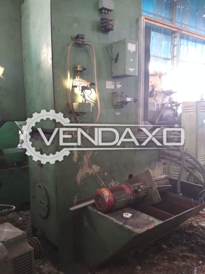 MAE German Push Type Vertical Broaching Machine - 16 Ton