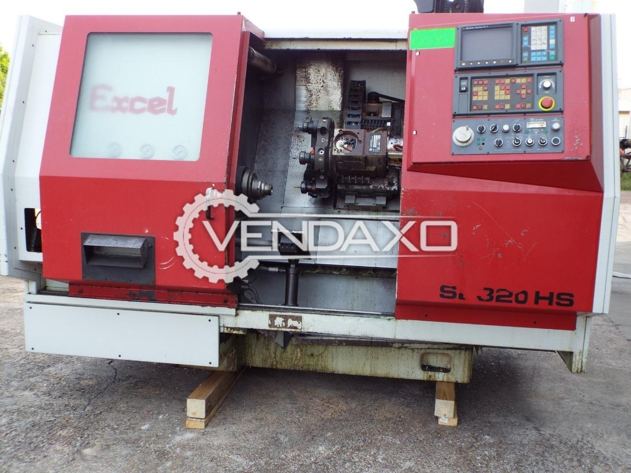 EXCEL SL-320HS CNC Turning Center - Max.Turning Diameter : 250mm
