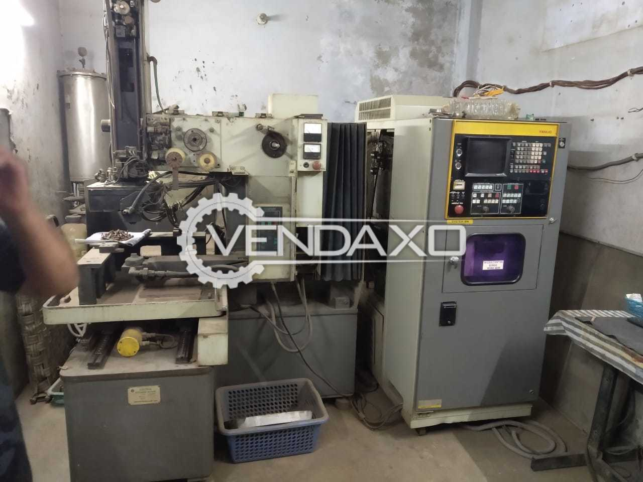 Available For Sale CNC Wire EDM Machine - 150 mm