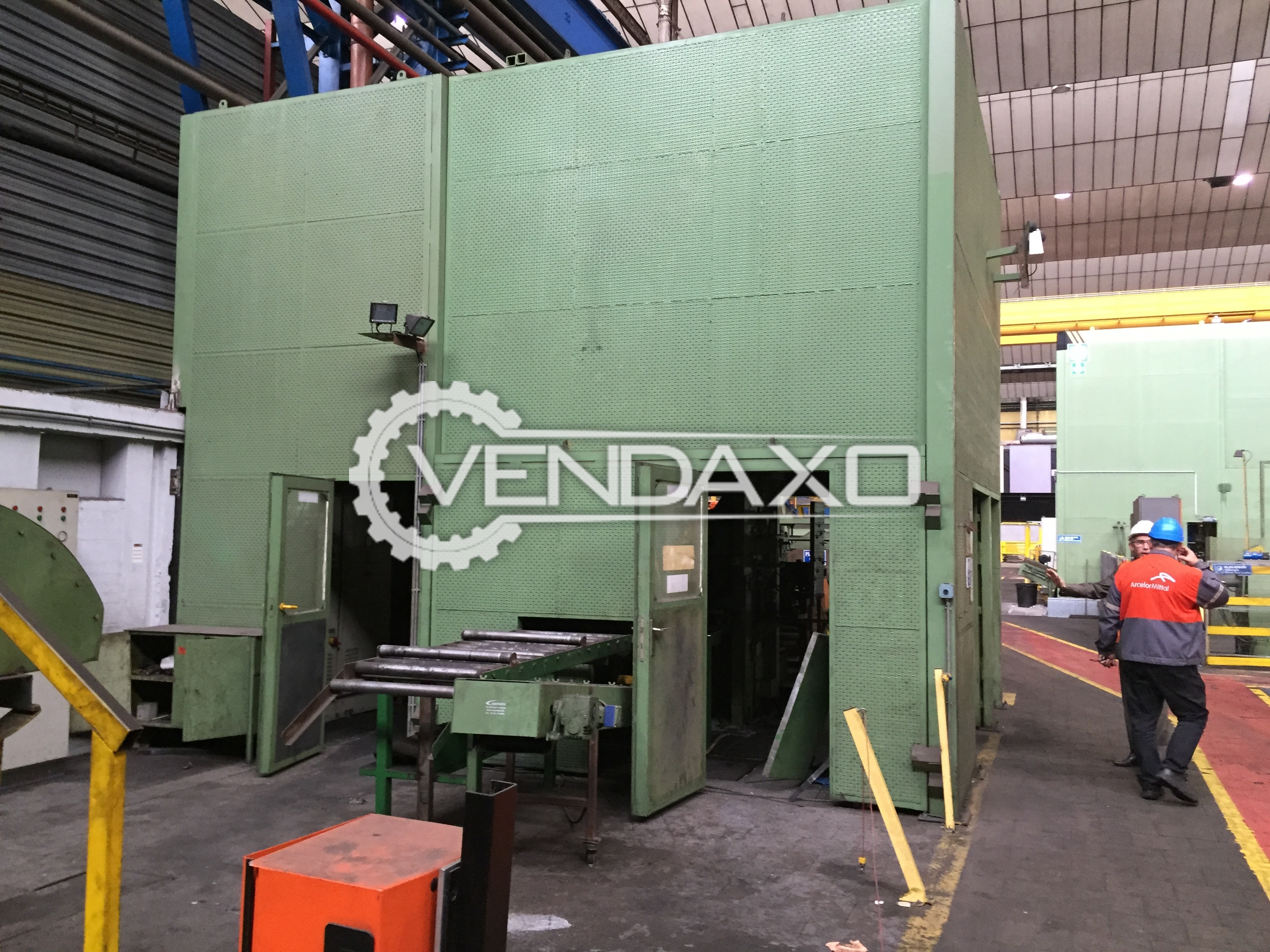 Bruck auto perforating complete line