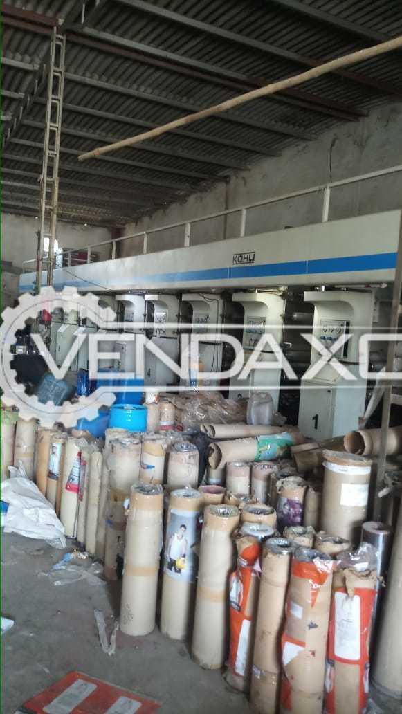 Kohli Make Rotograve Printing Machine - Speed - 150 Meter/Min, 9 Color