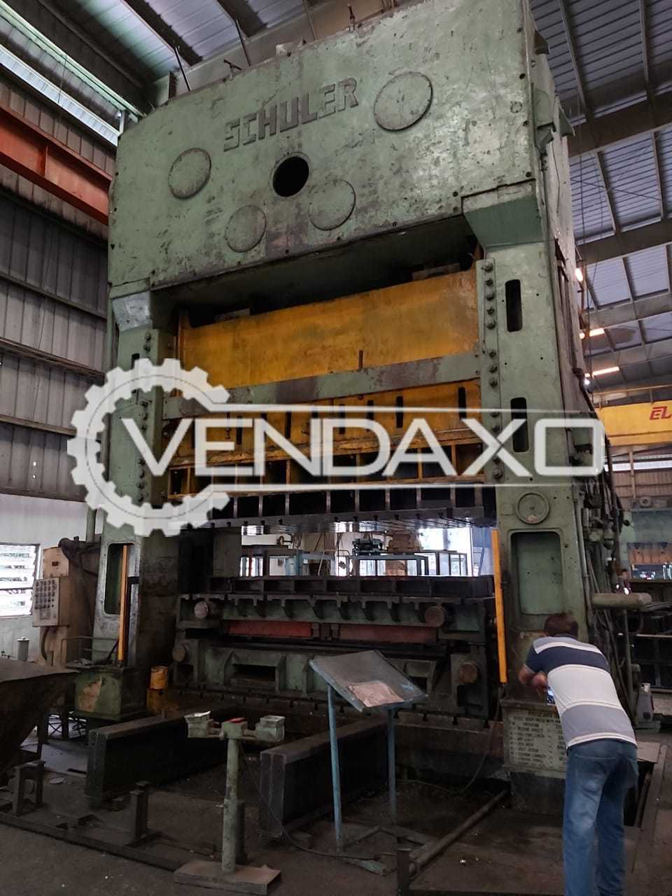 Schuler Make Hydraulic Press Machine - 1100 Ton