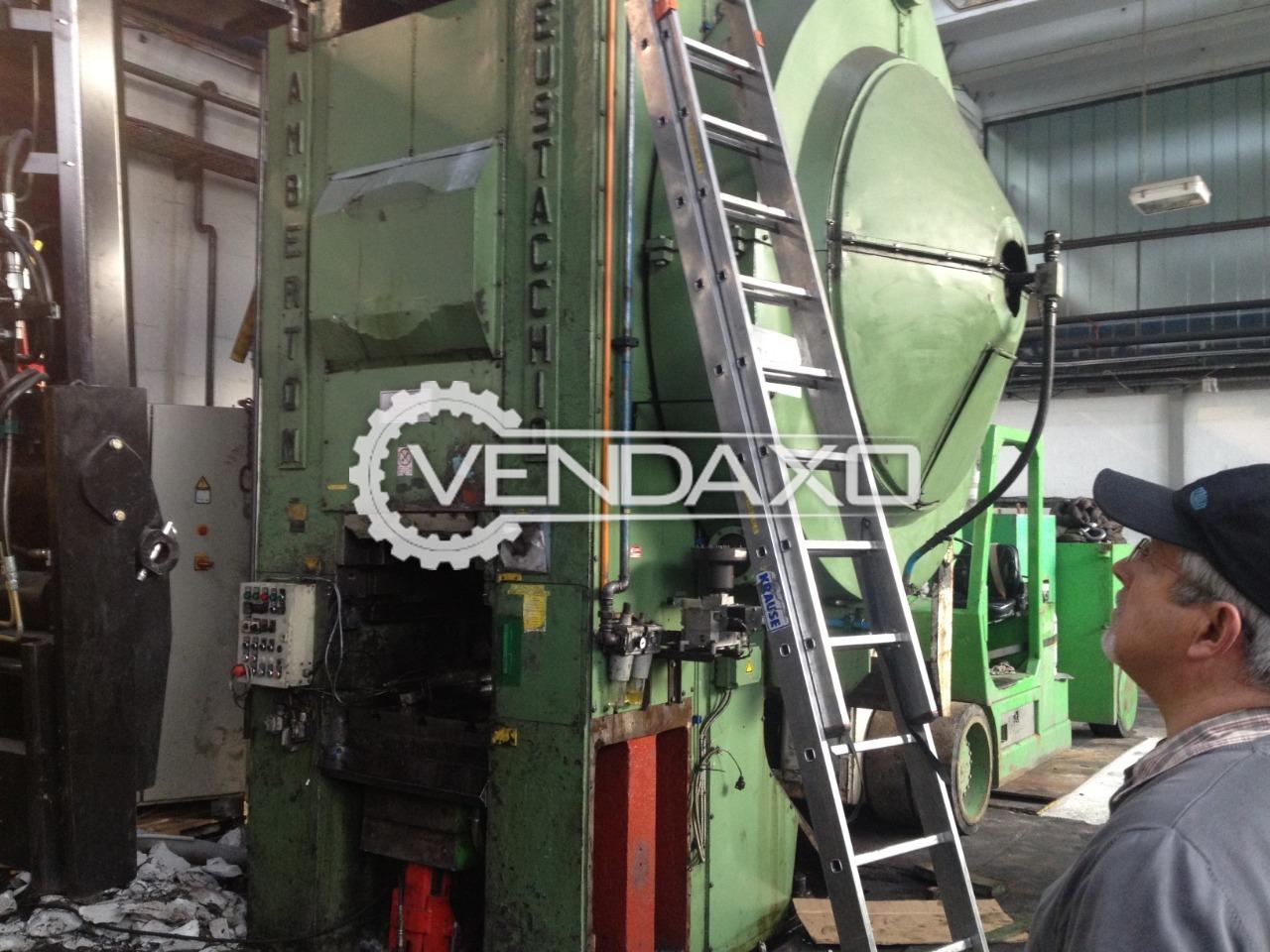 Eustacchio Lamberton Forging Press - 1600 Ton