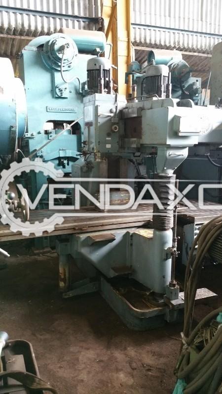 STARRAG KA 200 Double Column Vertical Milling Machine - Table Size : 2750mm x 600mm