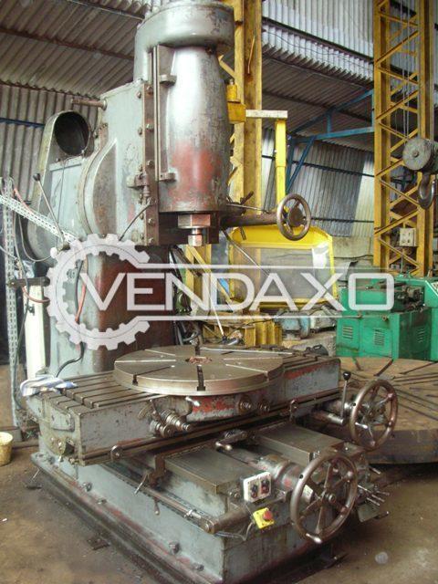 Graffenstaden 8835/1 Vertical Milling Machine - Table Size : 1600 x 600 mm