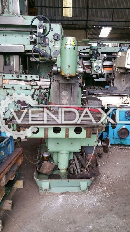 ALG 200 B Horizontal and Vertical Milling Machine - Table Size : 900 x 350 mm